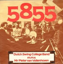 "DUTCH SWING COLLEGE BAND/PIETER VAN VOLLENHOVEN  - 5855 (1977 VINYL SINGLE 7"")"