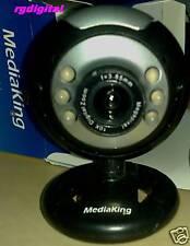 WEBCAM USB MEDIAKING 6 LED,5 mega pixel,zoom digitale!!