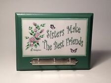 Sisters Make The Best Friends Key Rack Christmas Gift Ideas For Her & Sisters