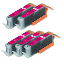 5 Magenta Ink Cartridge + LED Chip for CLI-251M Cannon MG7120 MG7520 iP8720