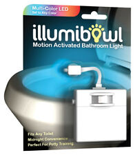 IllumiBowl  Automatic  Battery Powered  LED  Color Changing Night Light