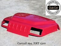 GENUINE OEM Club Car XRT1500 / Carryall 295, RED Cowl #102459718