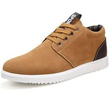 Men's Sports Shoes Lace up Breathable Casual Walking New Sneakers Athletic Flats