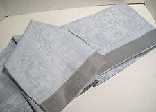 "Williams Sonoma Multi Color Snow Flake Jacquard Dinner Tablecloth 70"" X 108"" New"