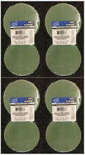 """FLORAL SUPPORT GREEN FOAM ARRANGER ROUNDS (2 PK) LOT OF (4). (4"""" W X 2"""" H) NEW!!"""