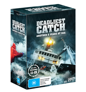DEADLIEST CATCH : Another 5 Years at Sea - The Complete Seasons 11-15 : NEW DVD