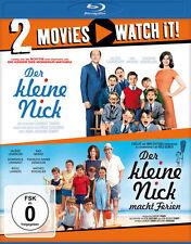 Der kleine Nick + Der kleine Nick macht Ferien  - 2 Blu Ray Box