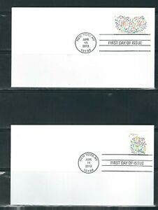 """US SC # 4764-4765 Flowers and Flowers """" Yes I Do """"  FDC. Ready For Cachet"""