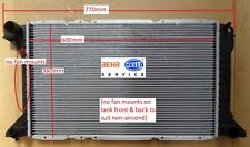 Radiator Ford Transit Petrol VF VG 2.5L T Diesel (non-aircon) 96-00 Manual 600mm