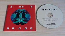 RARE CD PROMO ALBUM 11 TITRES NOVA HEART 1ER ALBUM