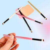 Makeup 4Pcs Brushes Set Oblique Angled Eyebrow Eye Liner Brow Brush Tool