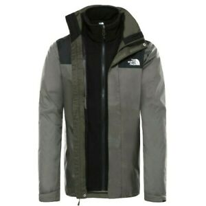 The North Face Jacke Triclimate Evolve II/2 3-in-1 Herren  XXL Taupe