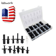 350pcs Car Automotive Push Pin Rivet Trim Clip Panel Body Interior Assortment US
