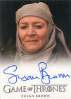 Game of Thrones Season 4 Autograph Card Susan Brown as Septa Mordane