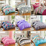Bedding Set Queen Full Twin Size Bed Sheet Pillowcase Case Quilt Cover