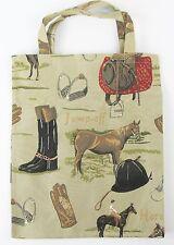 Tapestry Eco Tote Carry Bag Equestrian Horse Design Signare