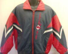 Cleveland Indians MLB Pro Player Leather Jacket - Medium Free Ship