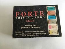 College Pursuit Game 1985 Math Sat Prep Verbal Cards Complete Cowan & Gadd