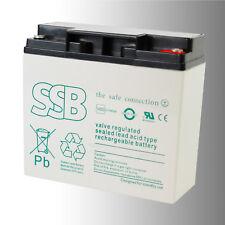 SSB Bleibatterie SBLV 17-12i 12V 17Ah VdS Longlife