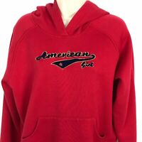 Girls American Girls Size XL 18 / 20 Red Hoodie Pullover Sweatshirt