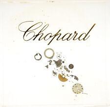 ORIGINAL CHOPARD AUFSTELLER / STAND UP DISPLAY 25 x 25 cm ACRYL - 1980er Jahre