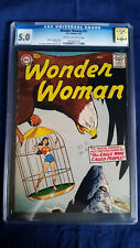 Wonder Woman #91 CGC 5.0 1957 Cream-Off White Pages