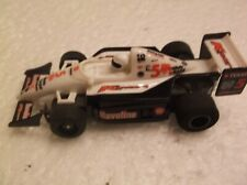 tyco slot car f-1 indy # 5 k-mart havoline 440x2 chassis ho 1/64 afx scale,nice