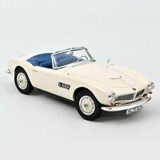 NOREV BMW 507 Cabriolet 1957 Echelle 1:18 Voiture Miniature - BLanche (183232)