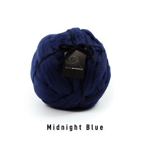 2kg Midnight Blue Mammoth® Giant Super Chunky Extreme Arm Knitting Big Yarn