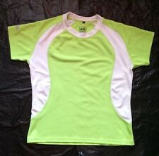 Ladies Icepeak Cycling Top/Jersey Green Short Sleeved Size XL Petite