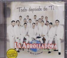 La Arrolladora De Rene Camacho Todo depende de ti  CD New sealed Nuevo