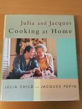 Julia Child and Jacques Pepin COOKING AT HOME