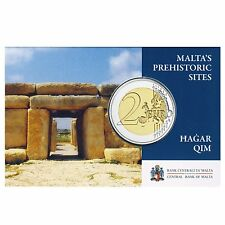 "2017 Malta 2 Euro BU Coin ""World Heritage: Hagar Qim Temples"""