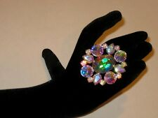 Adjustable Crystal AB Rhinestone Ring Drag Queen SSOV-6-AB/S