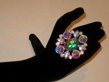 Adjustable Crystal AB Rhinestone Ring Drag Queen SSOV-6-AB/S