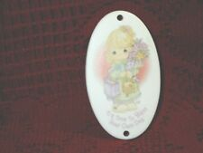 """Precious Moments It's Time To Bless Your Own Day Ornament 2001 Club Ceramic 3"""""""