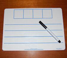 A4 Literacy Phoneme Frame Whiteboard & Pen Set