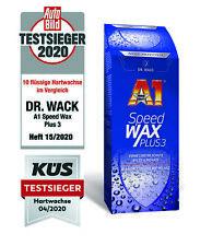 DR. WACK A1 Speed Wax Plus 3 Wachs Lack Pflege Versiegelung / 500ml // 2630