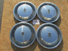 "1975, 1976 OLDSMOBILE NINETY EIGHT, REGENCY  15"" WHEEL COVERS, HUBCAPS, SET OF 4"