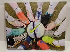 Nike Soccer Shoes Advertisement  Collectable Canvas Picture 16 x 20