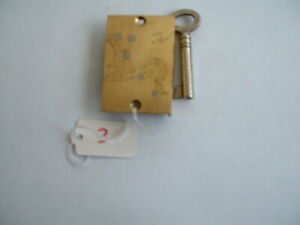Vintage  Lock,  , Wardrobe Lock, Cupboard Lock, Cabinet  old stock