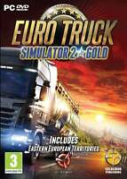 Euro Truck Simulator 2 Gold (PC DVD) NEW & Sealed Physical Game - includes disk!