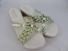 Carosello White Wedge Sandals UK 6.5 EU 40 LN18 71 SALEs