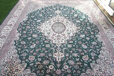 £7000 John Lewis Persian Kashan hand woven wool rug 375 x 280 cm Antique style