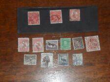 Old Australian Stamps NSW  Queensland Postage Stamps