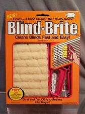 Original Blind Bright Cleaner Duster Roller w/ Pull Trigger Better Dust Cleaning