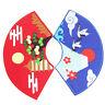 Japanisch Fächerförmig Stickerei Patches Adhesive Aufbügeln DIY Kleidung Nähen
