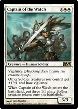 CAPTAIN OF THE WATCH M13 Magic 2013 MTG White Creature—Human Soldier RARE