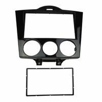Double Din Stereo Panel for Mazda RX-8 RX8 Dash Install Kit Fascia Gloss Black