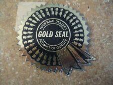BMC Gold Seal Decal MG Austin Healey NOS